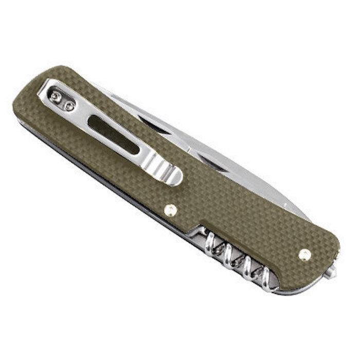 Нож Ruike L32-G зеленый