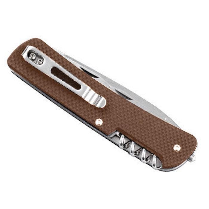 Нож Ruike L32-N коричневвый