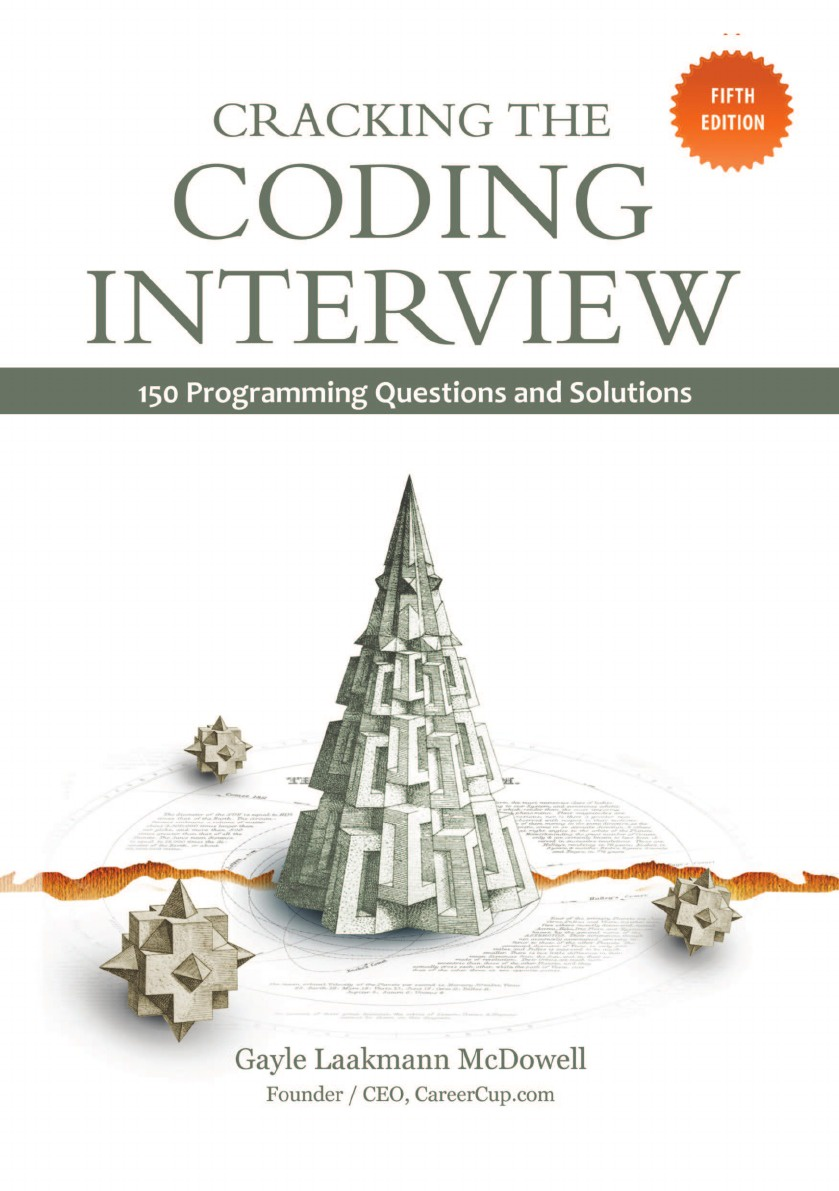 G.L. McDowell Cracking the Coding Interview scudamore p catt h the interview coach teach yourself