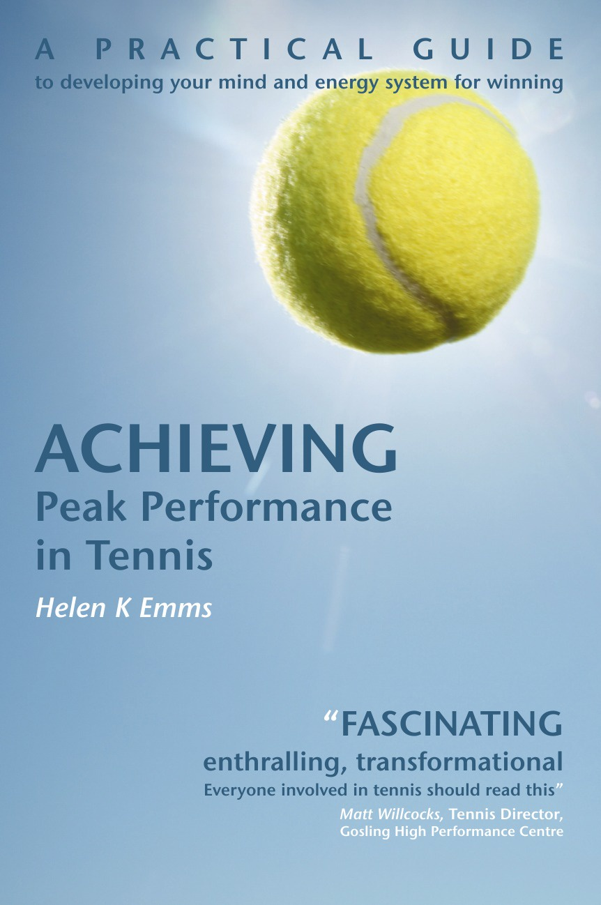 Helen K Emms Achieving Peak Performance in Tennis dvd players and drives