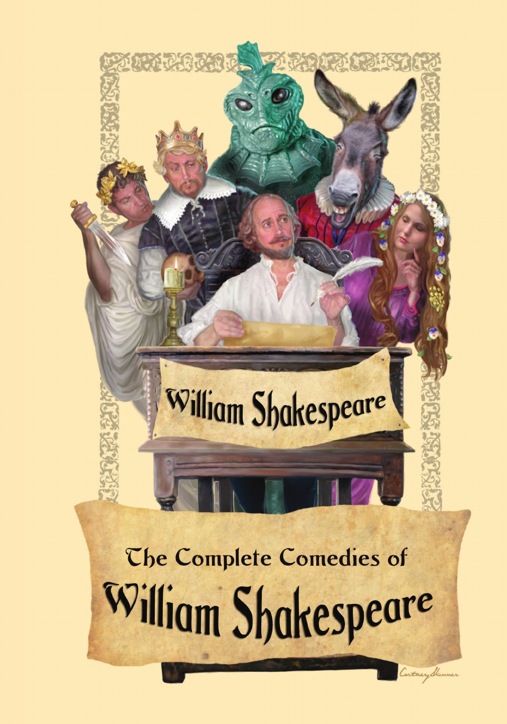 William Shakespeare, George Wilkins, John Fletcher The Complete Comedies of William Shakespeare john boydell the plays and poems of shakespeare merchant of venice midsummer night s dream love s labor s lost