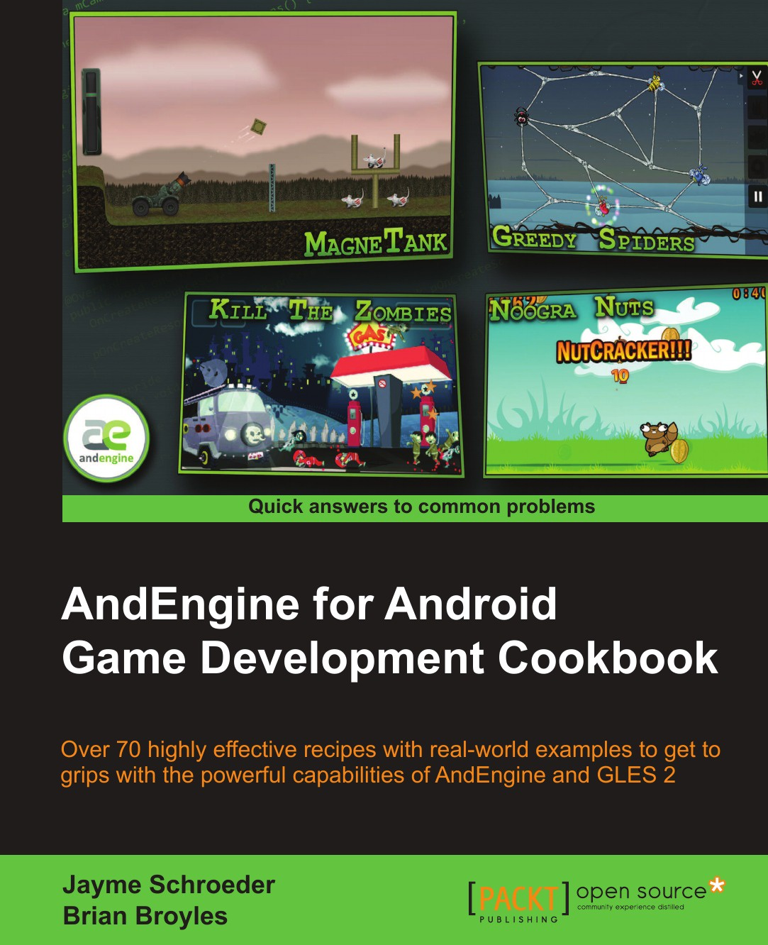 Jayme Schroeder, Brian Jamison Broyles Andengine for Android Game Development Cookbook alexander makarov yii application development cookbook 2nd edition
