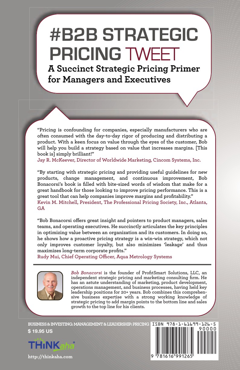 # B2B Strategic Pricing Tweet Book01. Game-Changing Pricing Strategies for Manufacturing and Service Companies