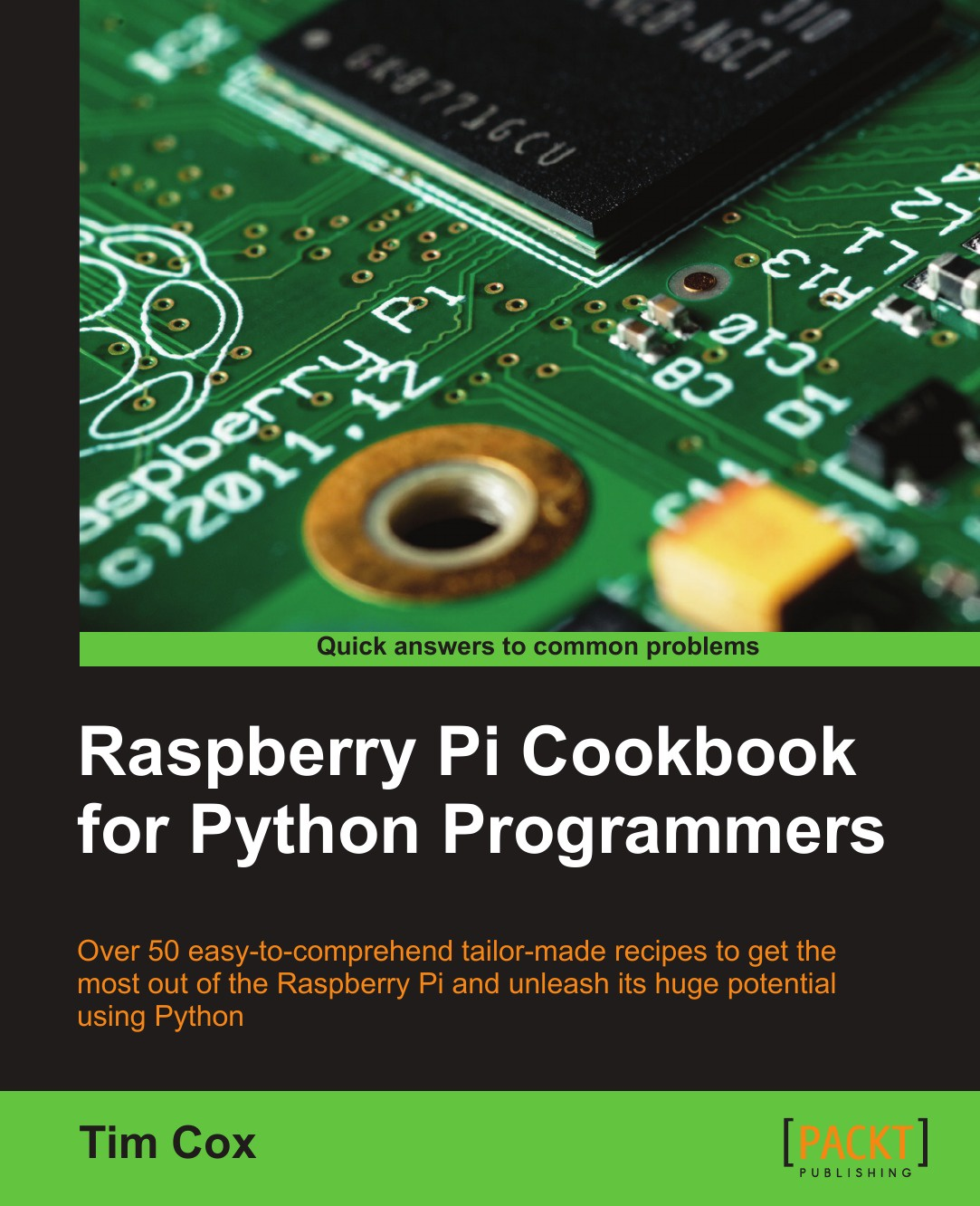 Tim Cox Raspberry Pi Cookbook for Python Programmers java for novice programmers