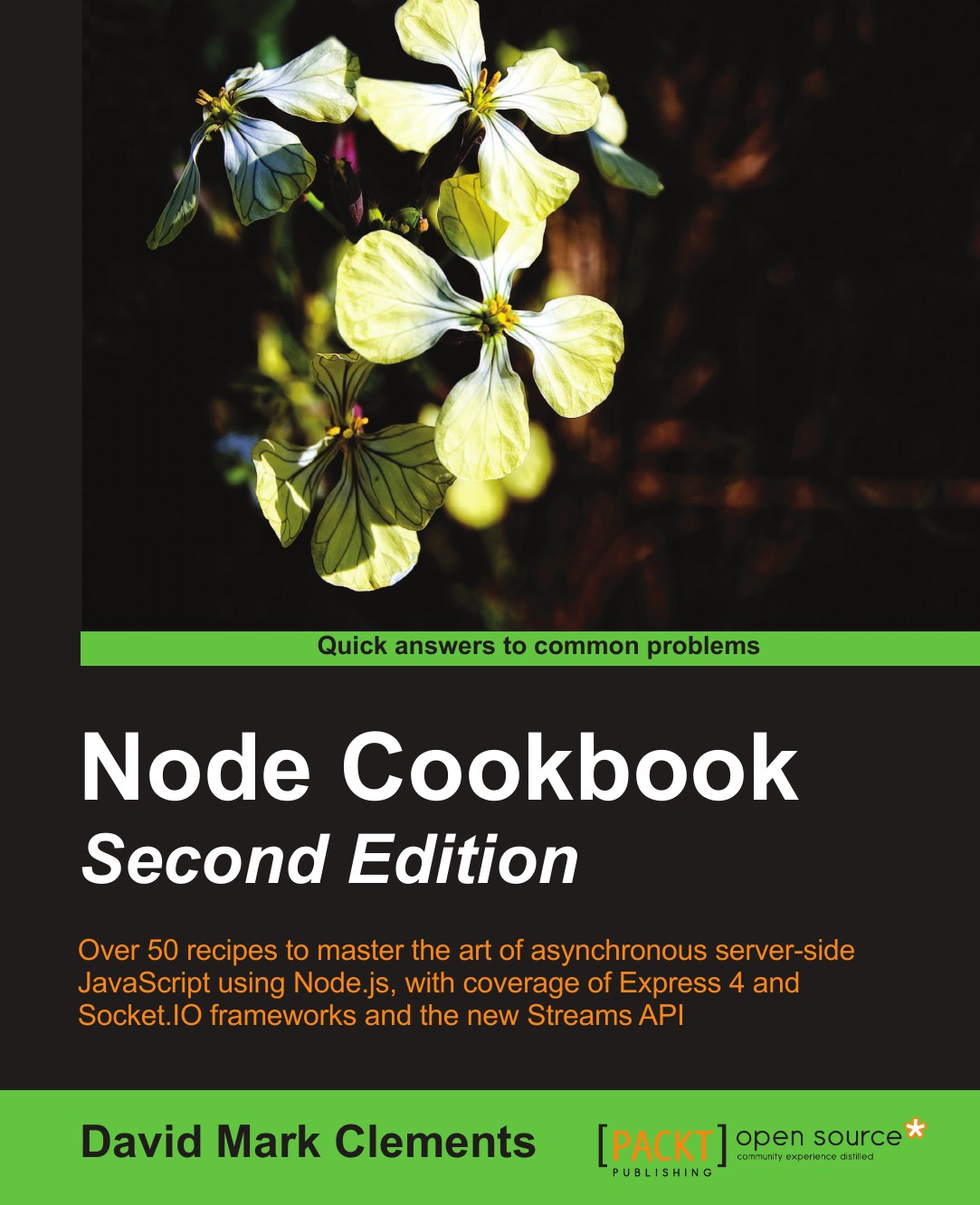 David Mark Clements Node Cookbook Second Edition node ds shampooing