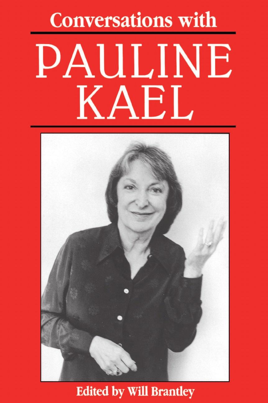 Pauline Kael Conversations with Pauline Kael judith schalansky kaelkirjaku kael
