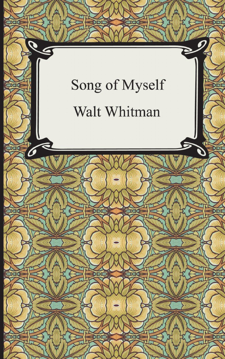 Walt Whitman Song of Myself цена