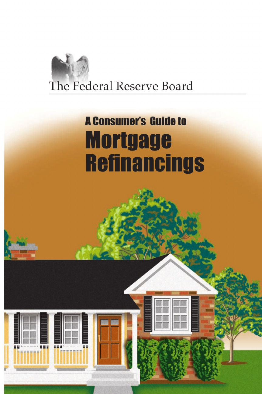 Reserve Federal Reserve, Of Gove Board of Governors of the F. R., Federal Reserve Consumer's Guide to Mortgage Refinancing paul muolo $700 billion bailout the emergency economic stabilization act and what it means to you your money your mortgage and your taxes