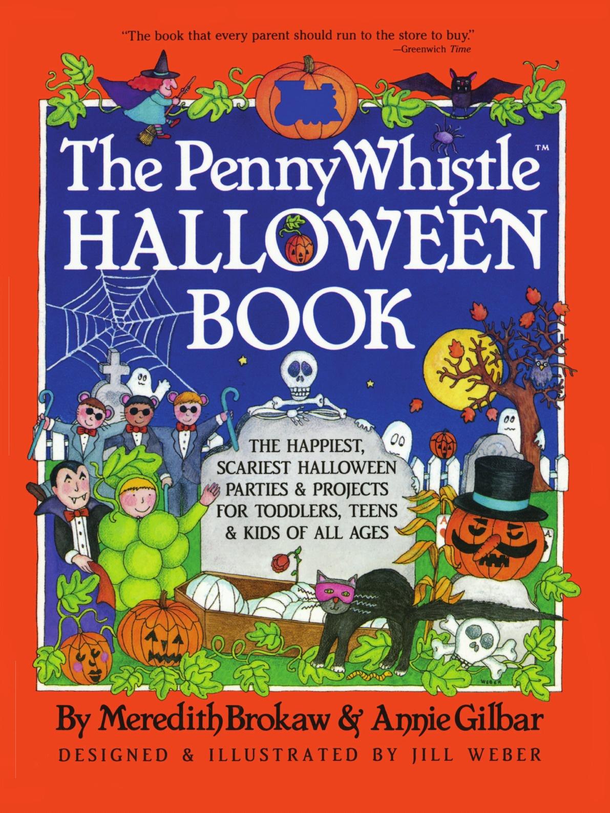 Meredith Brokaw Penny Whistle Halloween Book недорго, оригинальная цена