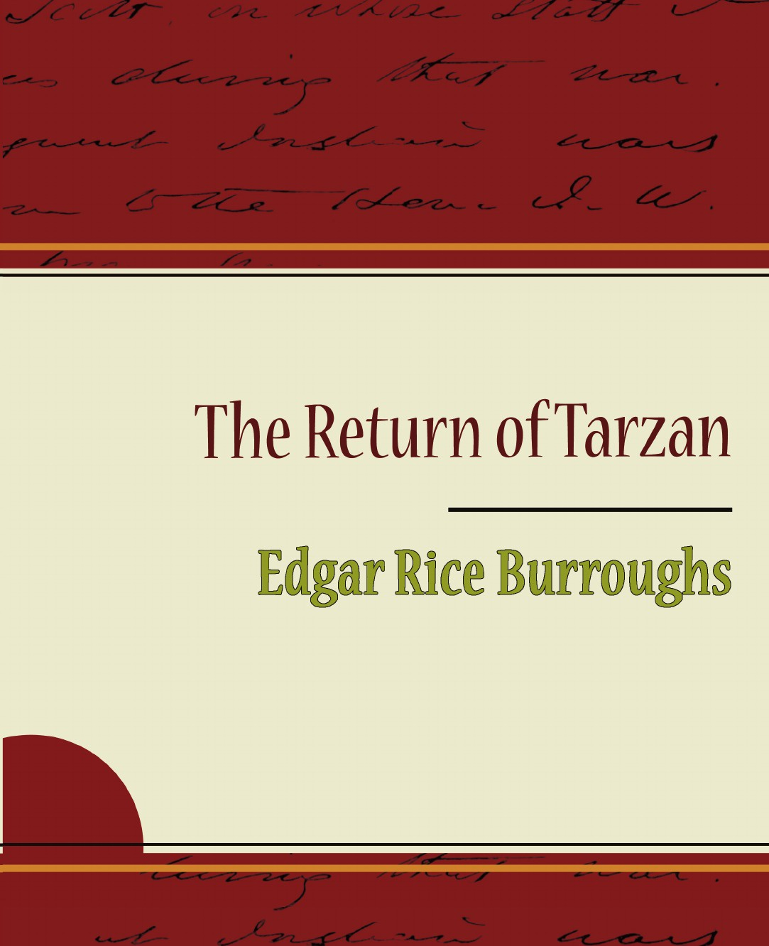 Edgar Rice Burroughs The Return of Tarzan edgar rice burroughs the war chief