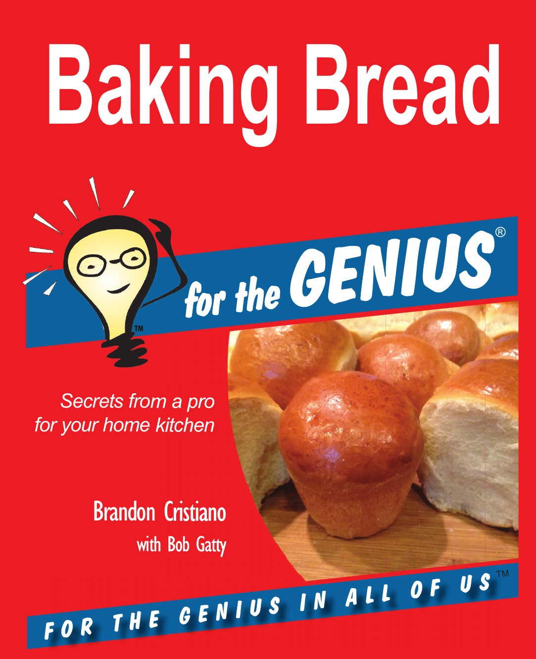 Brandon Cristiano, Bob Gatty Baking Bread for the GENIUS beijing