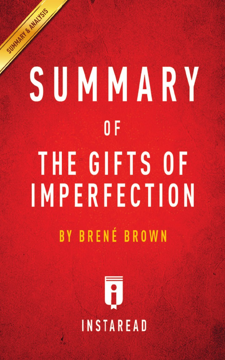Instaread Summaries Summary of The Gifts of Imperfection. by Brene Brown . Includes Analysis analysis of nifedipine microsphere