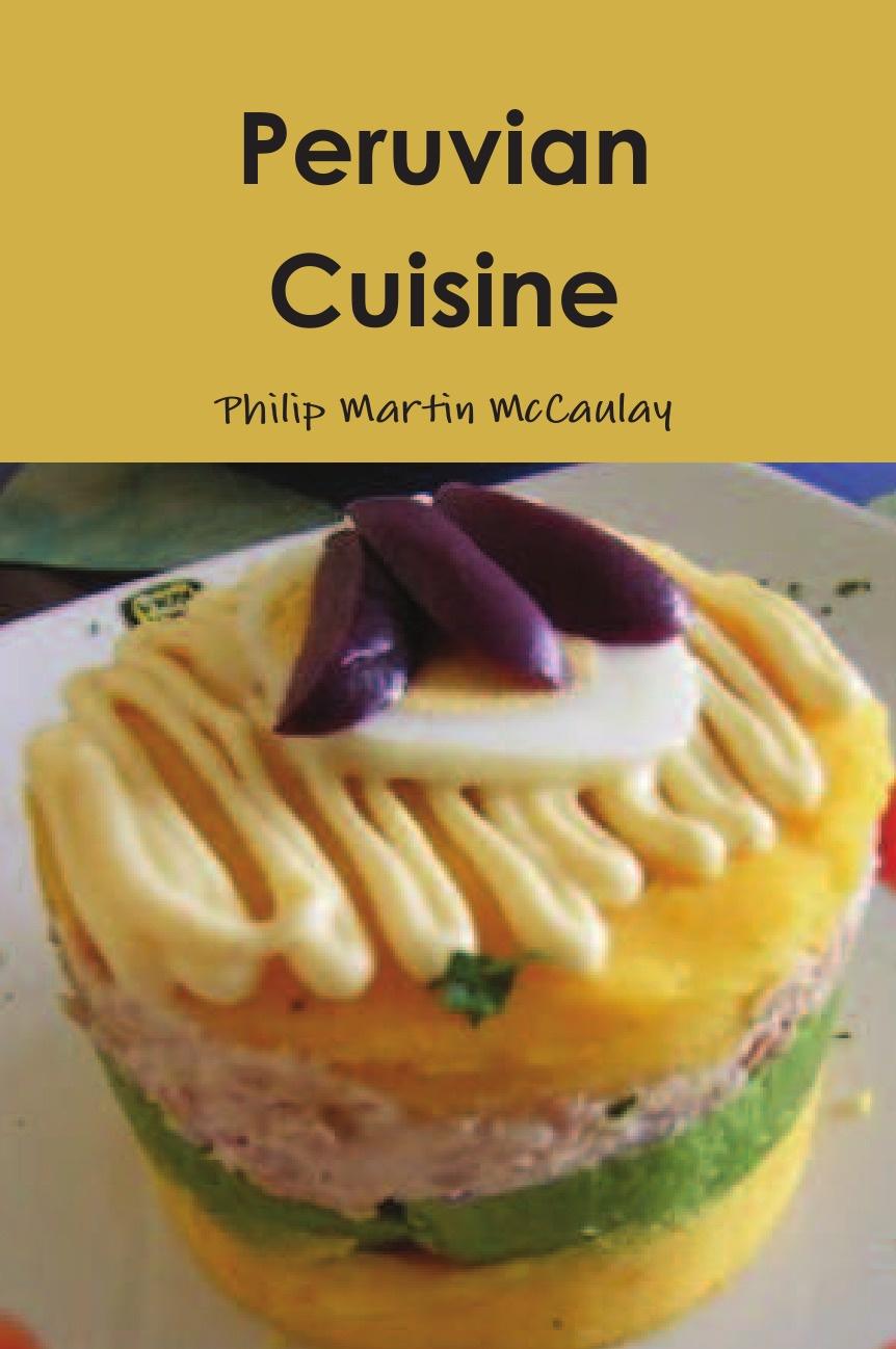 Philip Martin McCaulay Peruvian Cuisine кастрюля la cuisine 5250mb зеленая