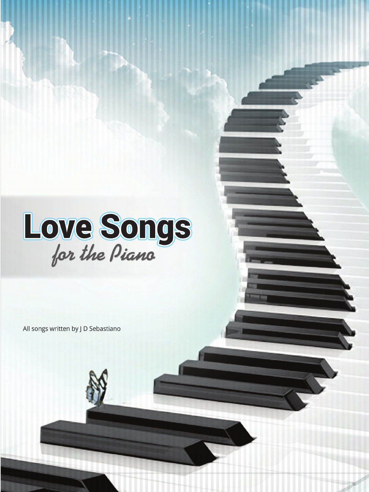 J D Sebastiano Love Songs for the Piano new original nj1 5 18gm n d v1 warranty for two year