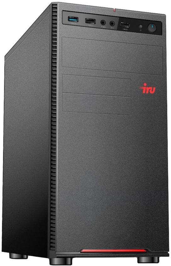 Системный блок IRU Home 315 MT, 1125304, черный системный блок iru home 315 mt 1063323 черный