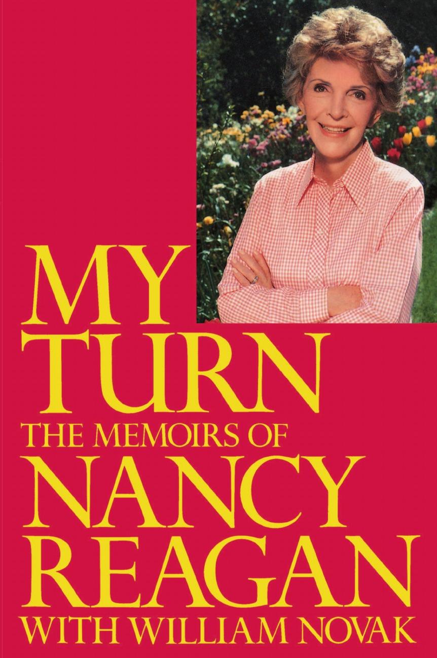 цена на Nancy Reagan My Turn. The Memoirs of Nancy Reagan