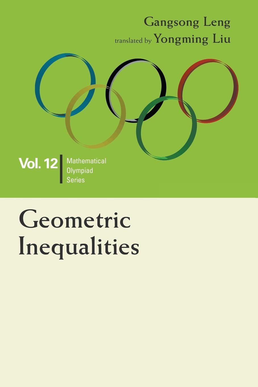 Gangsong Leng Geometric Inequalities. In Mathematical Olympiad and Competitions pair of elegant rhinestone hollowed geometric earrings for women