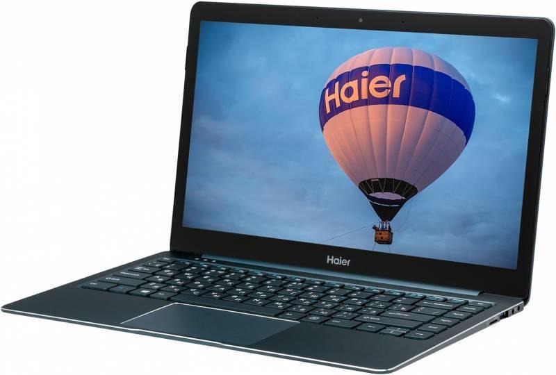 13.3 Ноутбук Haier ES34 TD0026533RU, синий ноутбук синий