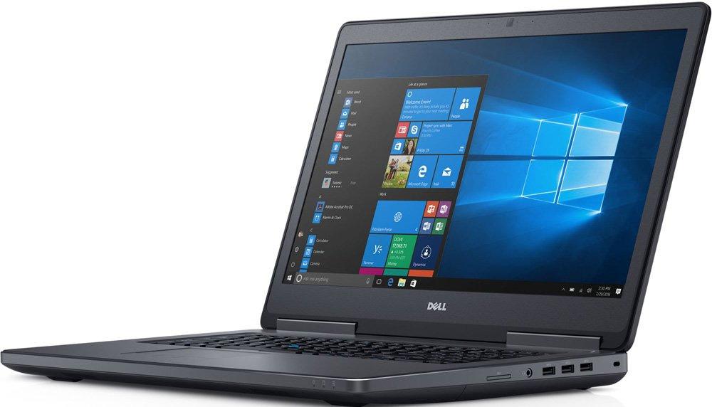 17.3 Ноутбук Dell Precision 7720 7720-2646, черный ноутбук 9 дюймов
