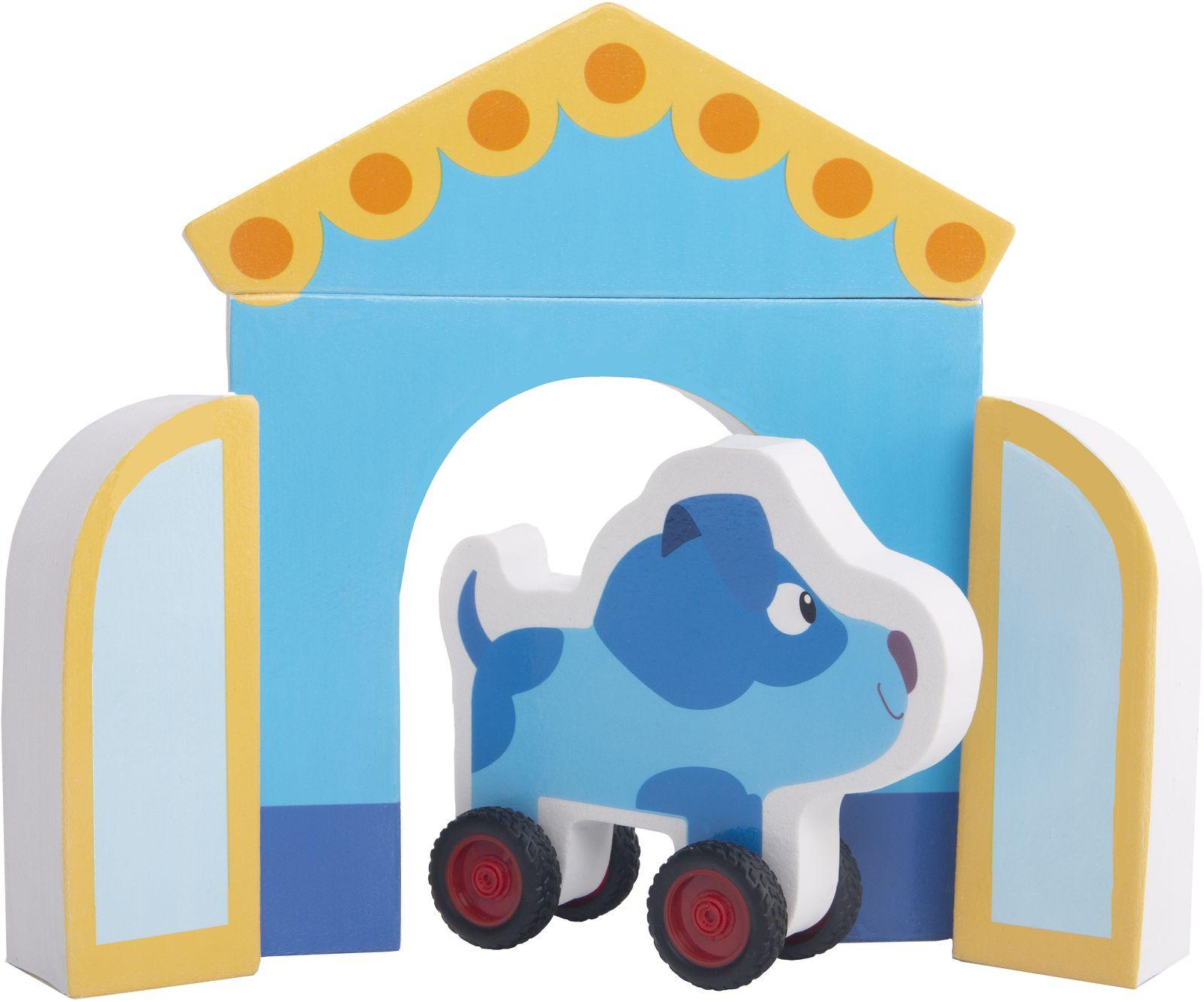 Мягкий конструктор Деревяшки Собачка Гав-Гав, 18WEVA03 набор для творчества конструктор раскраска домик собачка перепл картон с европодвесом