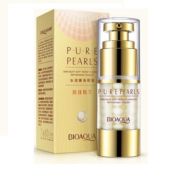 Антивозрастной крем для глаз с экстрактом жемчуга Pure Pearls Eye Cream