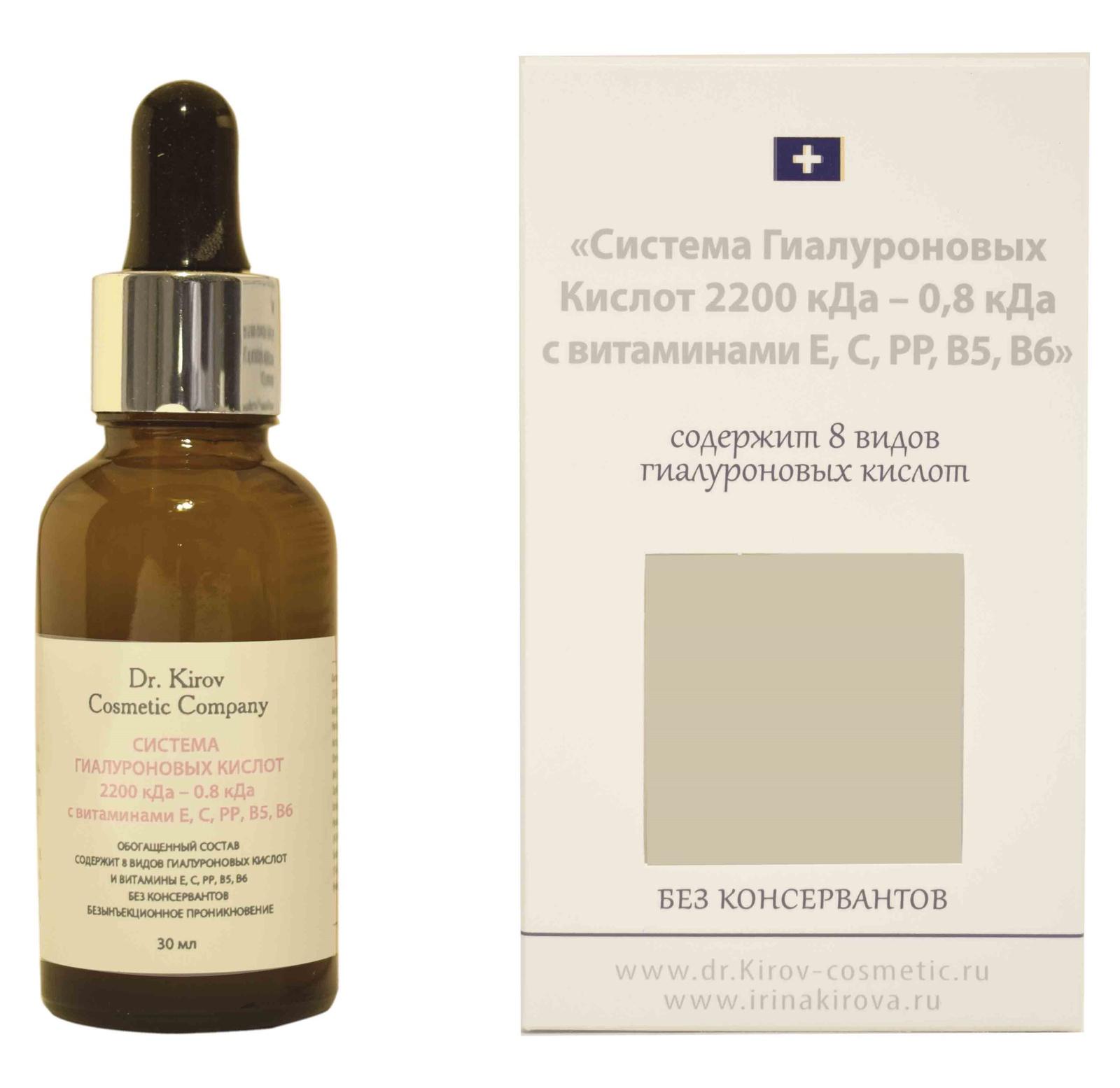 Dr. Kirov Cosmetic Company,Гель гиалуроновый