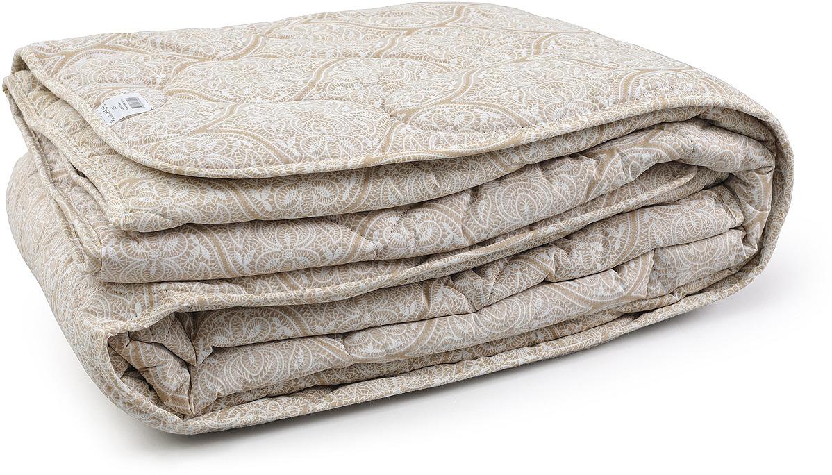 Одеяло Волшебная ночь Лен, бежевый, 140 х 205 см одеяло ившвейстандарт бамбук 140 х 205 см светло бежевый