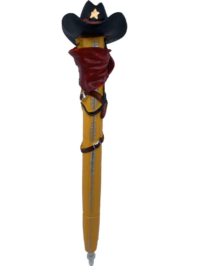 Ручка Прикол Ковбой склад уникальных товаров калейдоскоп led большой