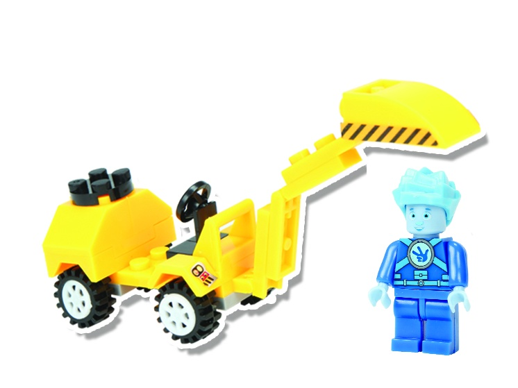 Конструктор Фиксики серия Транспорт Экскаватор S конструктор метал экскаватор 129 деталей 01108