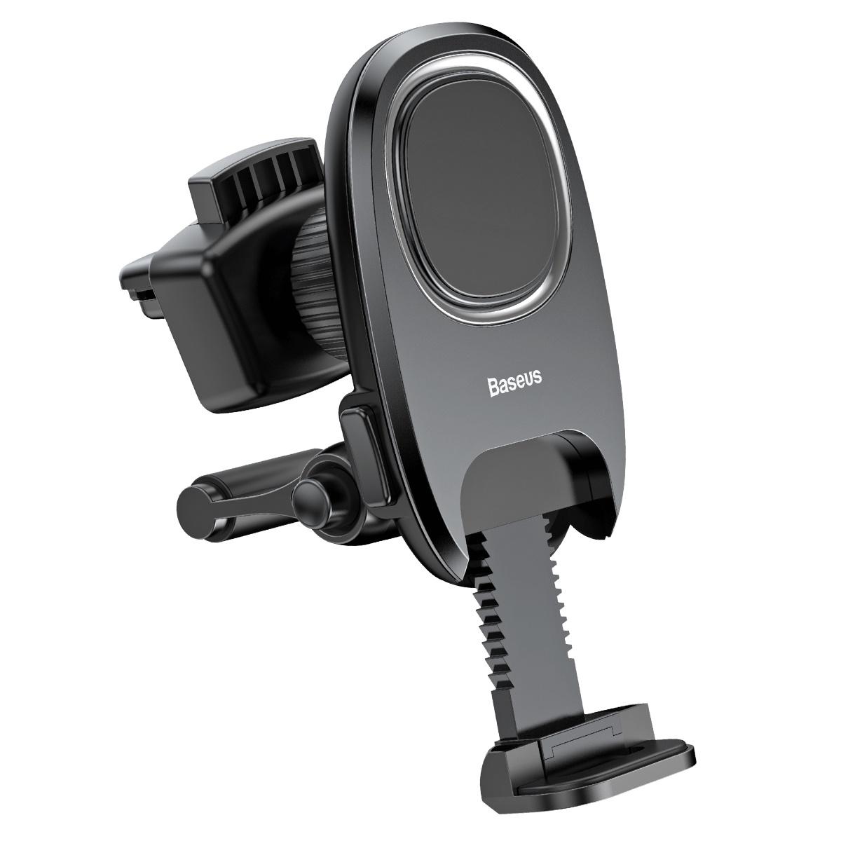 Автомобильный держатель Baseus Xiaochun Magnetic Car Phone Holder SUCH-01 (черный) автомобильный держатель ttec easydrive go 2tt11 черный