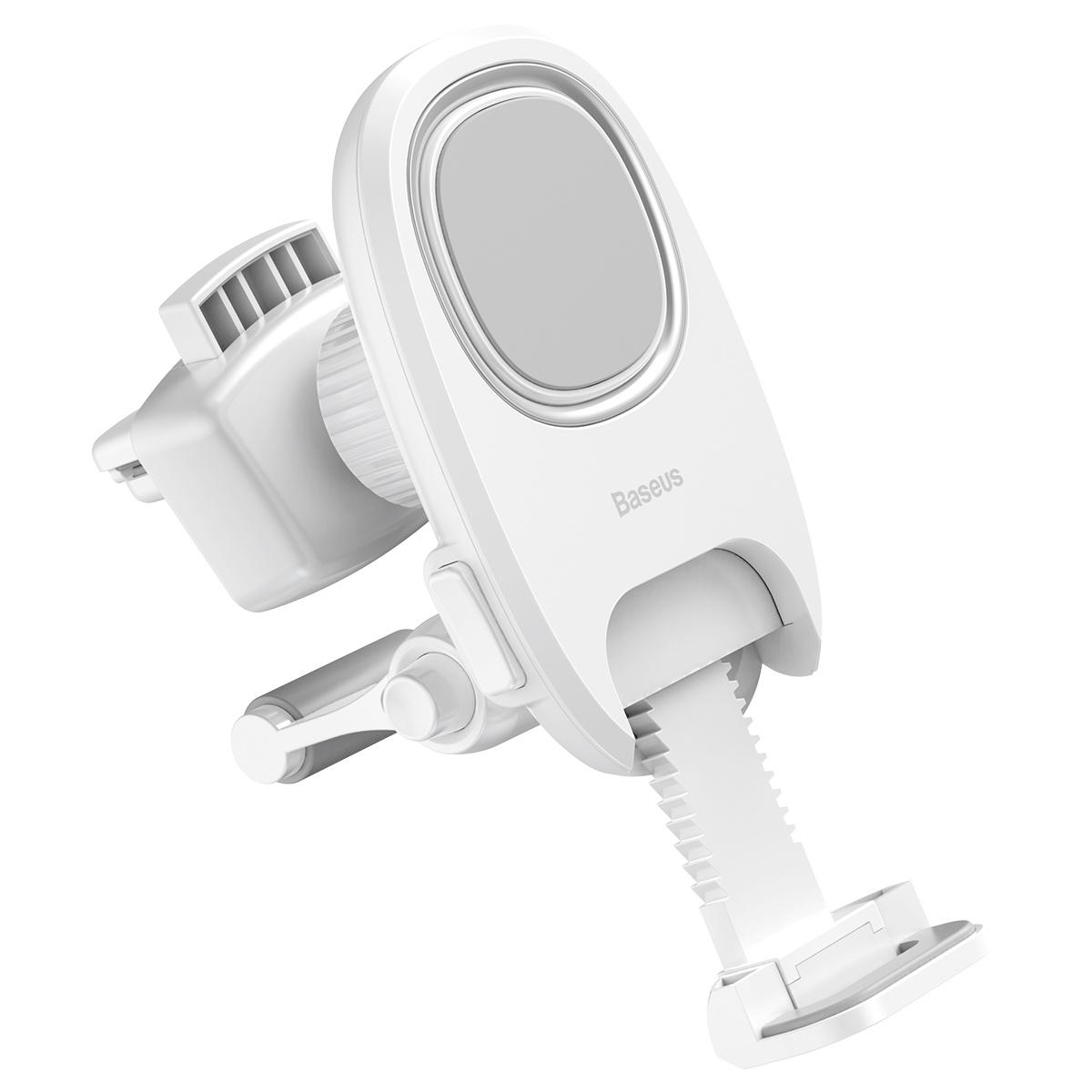 лучшая цена Автомобильный держатель Baseus Xiaochun Magnetic Car Phone Holder SUCH-02 (белый)