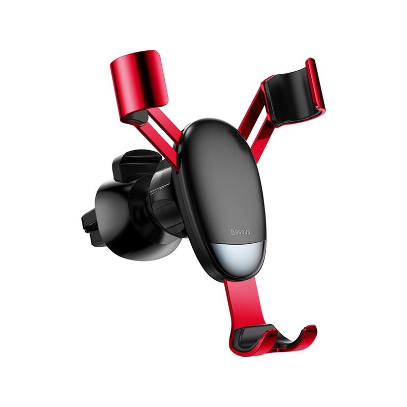 Автомобильный держатель Baseus Mini gravity holder SUYL-G09 (красный) автомобильный держатель baseus mini gravity holder suyl g09 красный