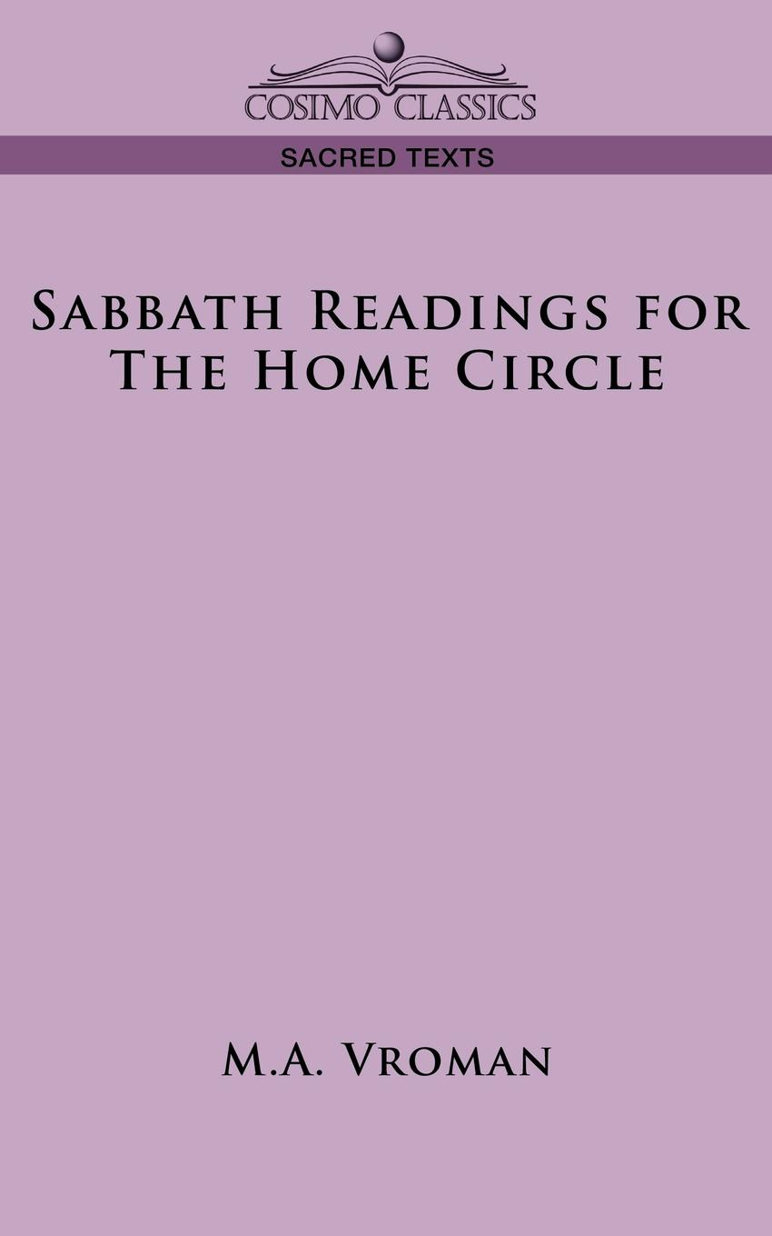 M. a. Vroman Sabbath Readings for the Home Circle pair of trendy big circle faux pearl geometric drop earrings for women