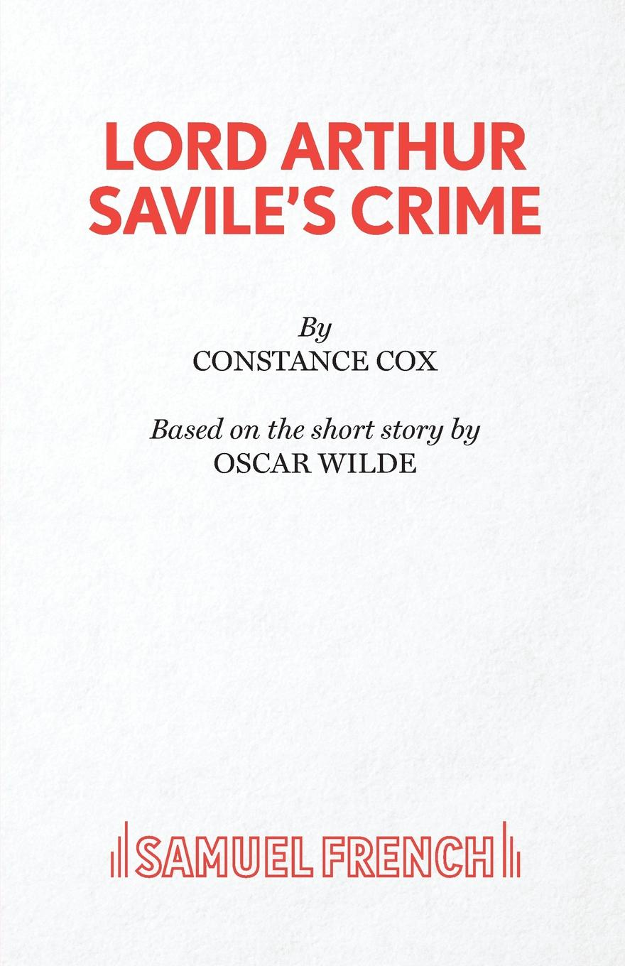 Constance Cox, Oscar Wilde Lord Arthur Savile's Crime oscar wilde the ballad of reading gaol a poetry