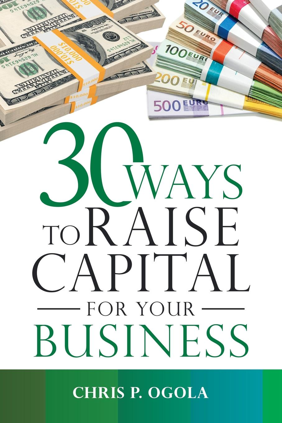 Chris P. Ogola 30 Ways to Raise Capital for Your Business capital inicial recife