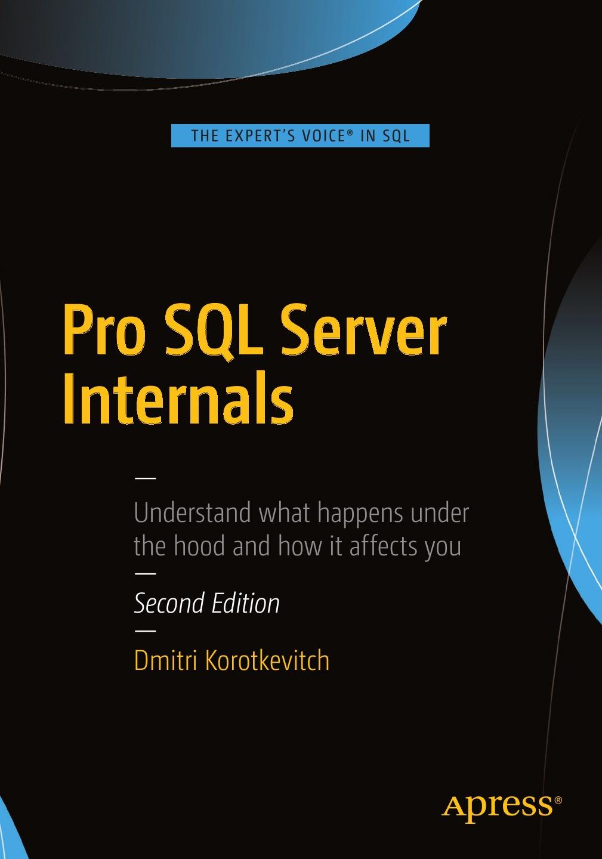 Dmitri Korotkevitch Pro SQL Server Internals server computer