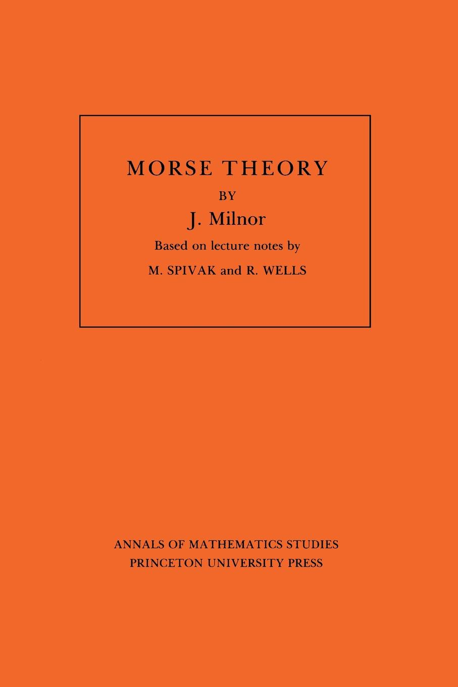 John Milnor Morse Theory. (AM-51), Volume 51 портативное радио philips ae2160