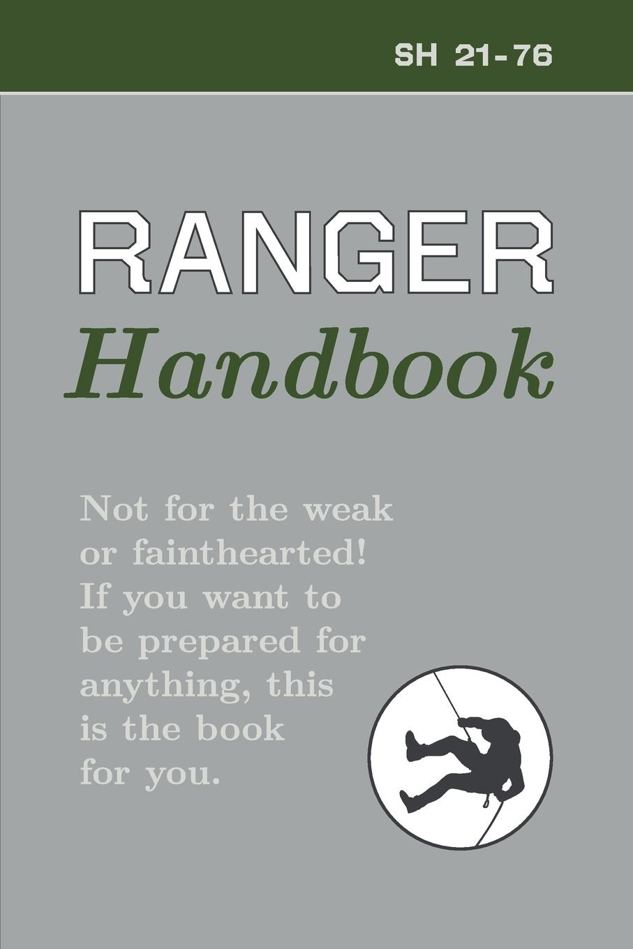 US Army Ranger Handbook cleeves a cold earth isbn 9781447278221