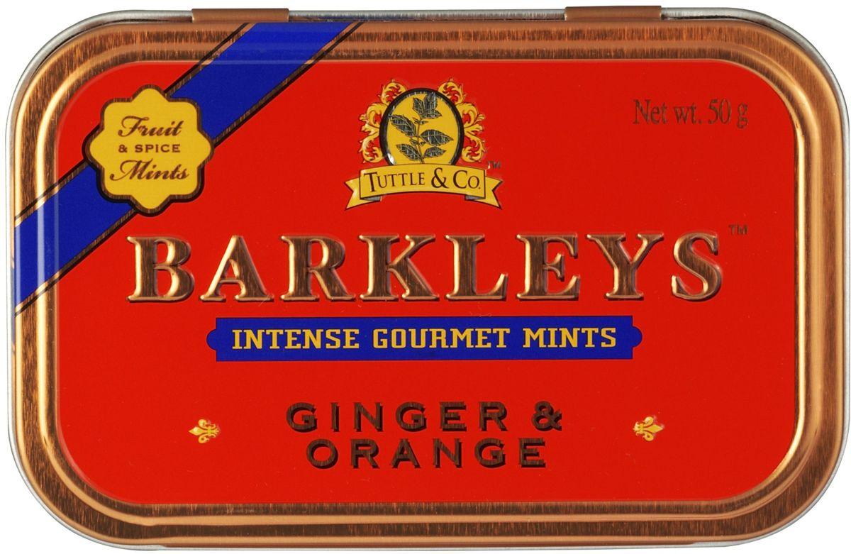 все цены на Леденцы Barkleys Mints, имбирь и апельсин, 50 г онлайн