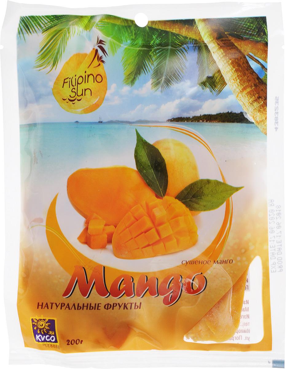 Плоды манго сушеные Filipino Sun, 200 г