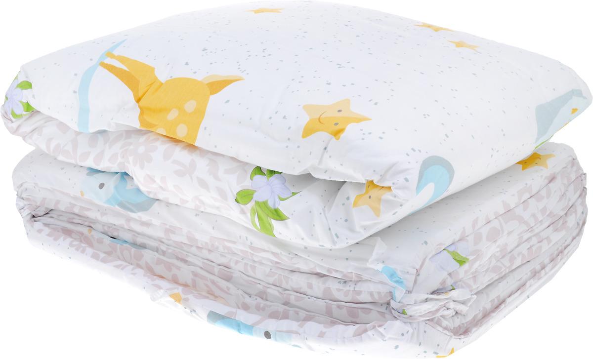 Комплект в кроватку Sweet Baby Renna, 410655, розовый, 7 предметов