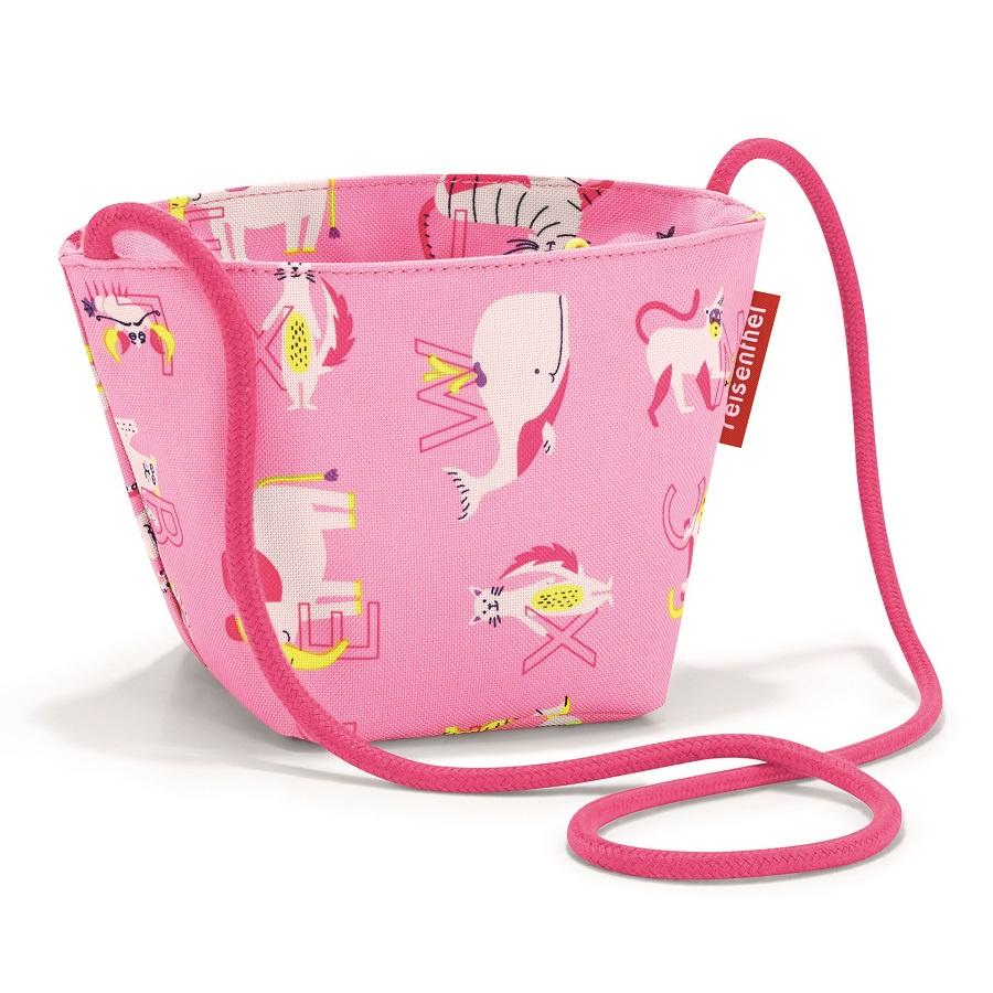 Сумка детская Reisenthel Minibag ABC friends pink малыш kid дети schoolbag для мальчика девочка 3d мультфильм животных рюкзак мешок школы детский сад дети детская сумка