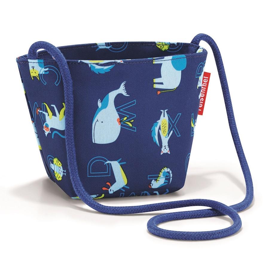 Сумка детская Reisenthel Minibag ABC friends blue малыш kid дети schoolbag для мальчика девочка 3d мультфильм животных рюкзак мешок школы детский сад дети детская сумка