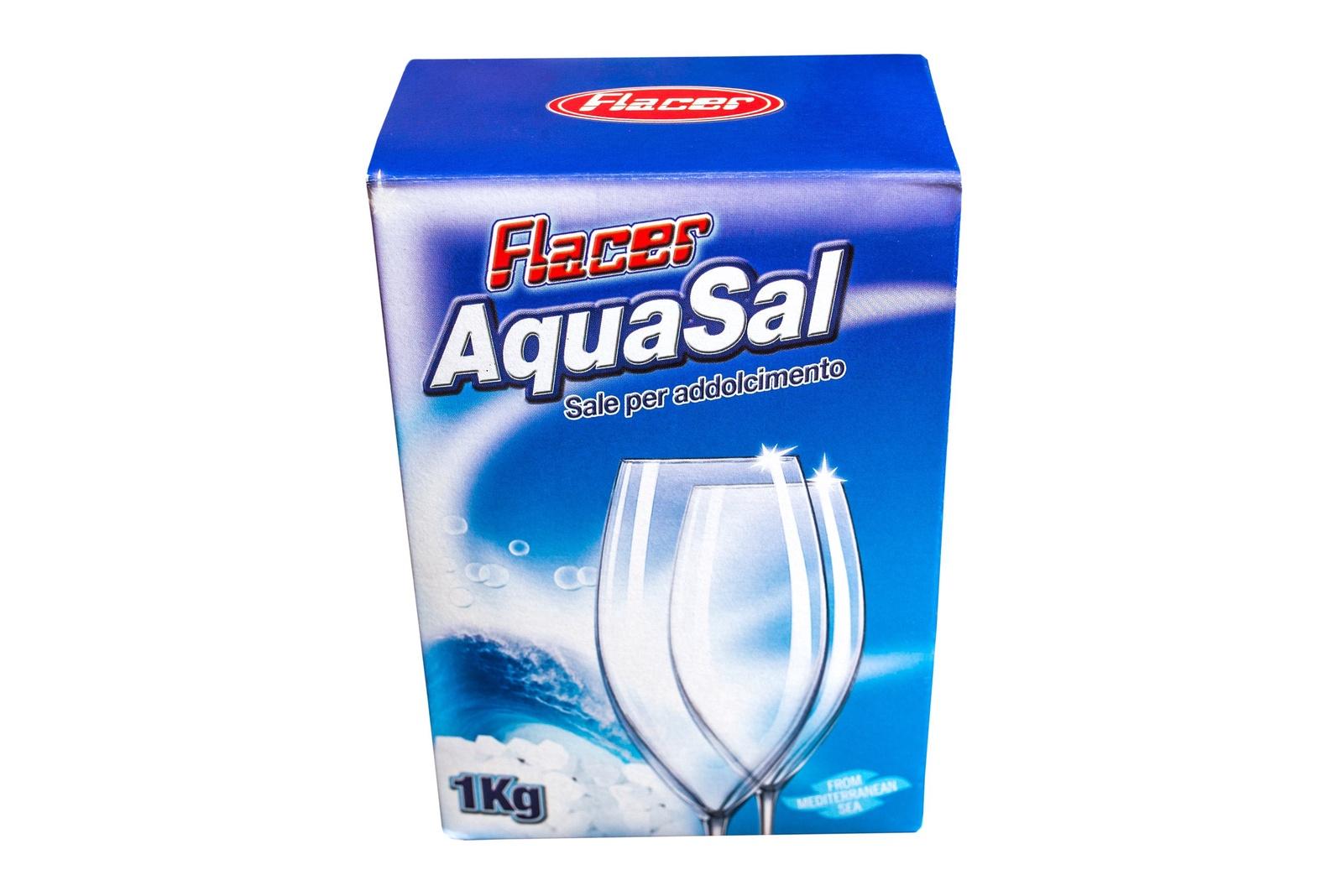 Соль Flacer для посудомоечных машин 1кг