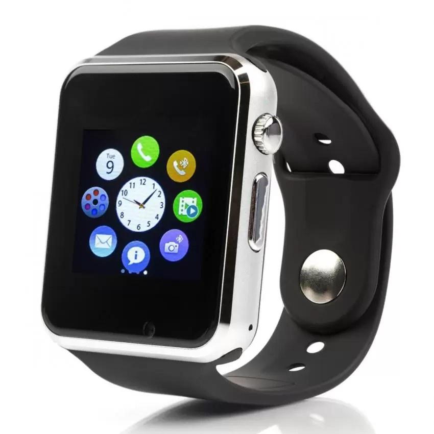 Фото - Умные часы CHM-MARKET A1, серебро видео
