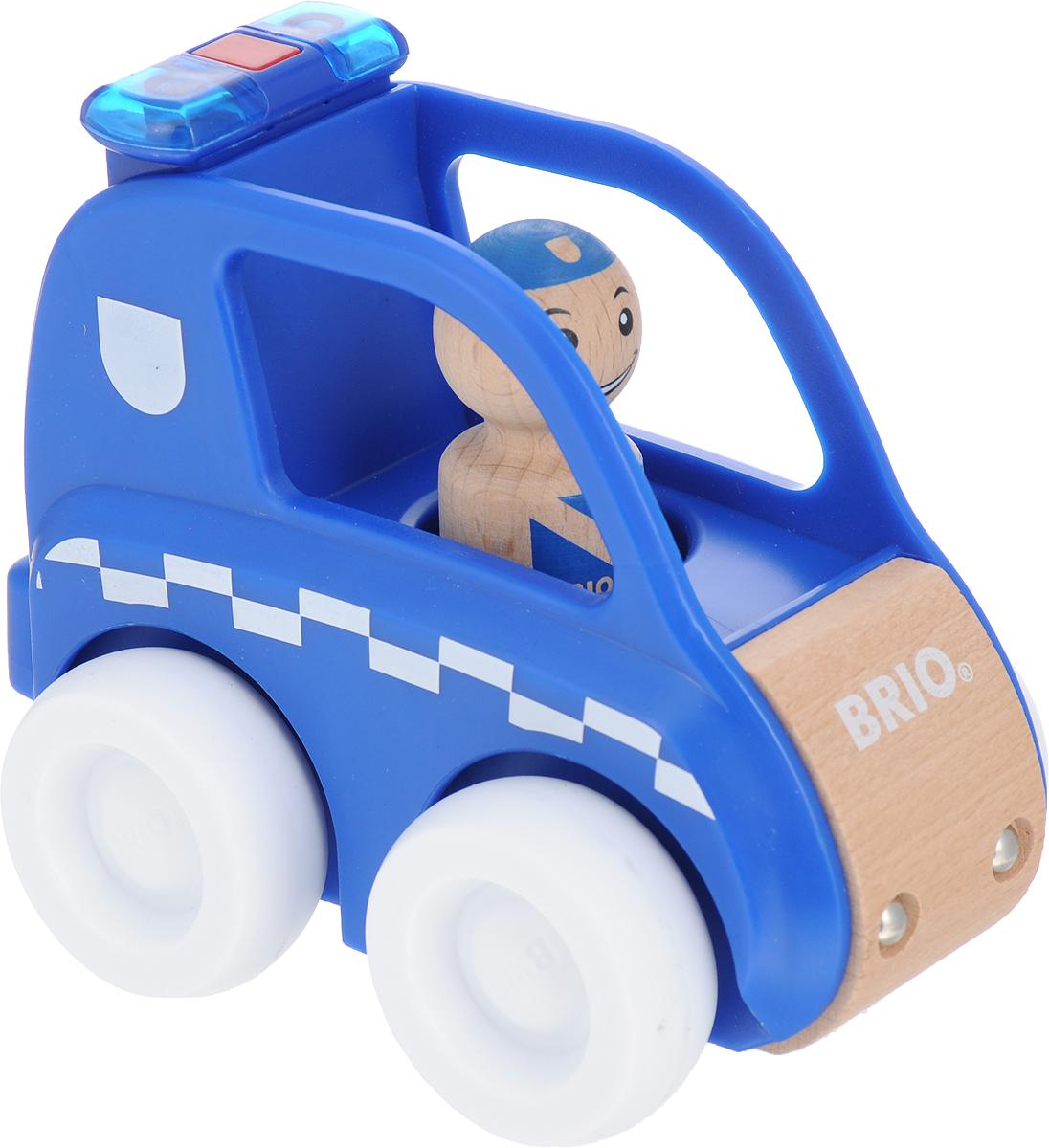 Игровой набор Brio Мой родной дом Полицейская машина, 30377
