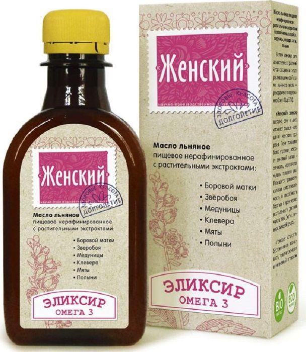 Льняное масло Компас Здоровья органическое, натуральное, растительное, 200 масло льняное с селеном хромом кремнием 200 мл компас здоровья правильное питание
