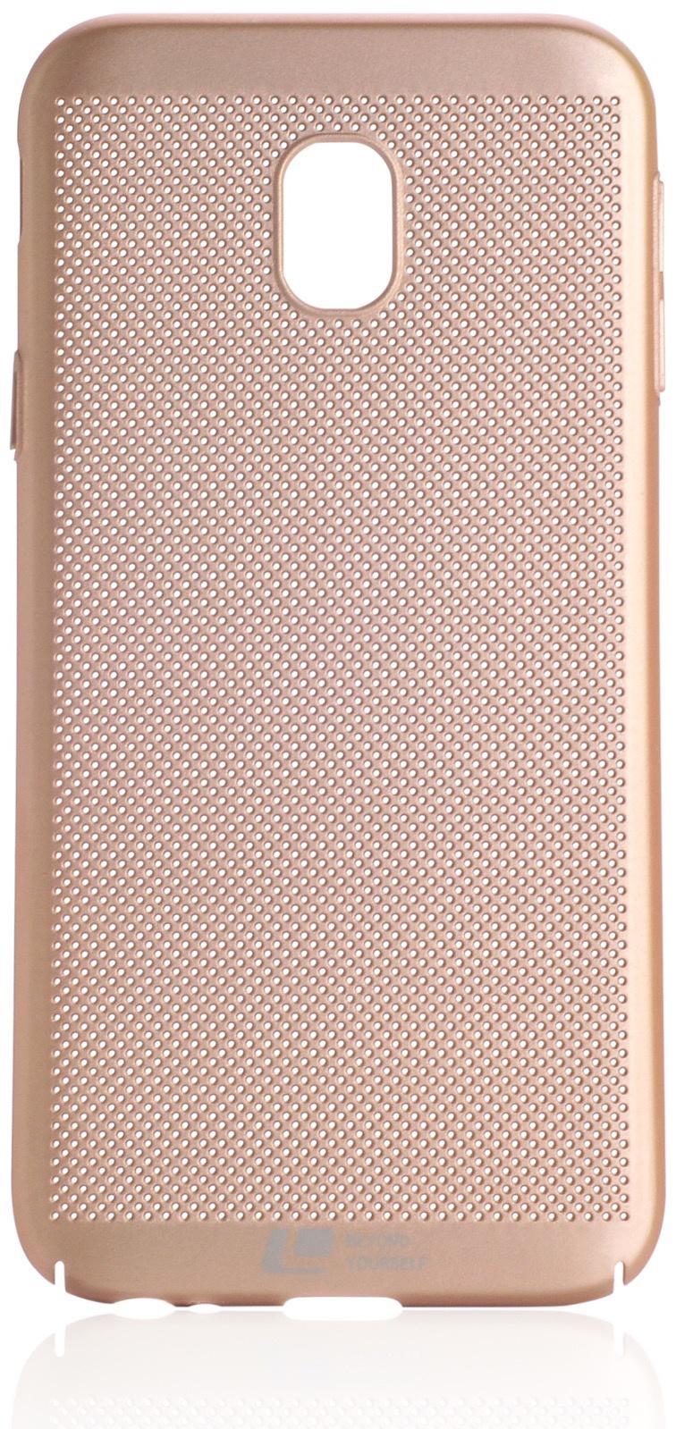 Чехол накладка Loopee пластик gold для Samsung Galaxy J3 2017 USA model,902869,золотой loopee чехол крышка loopee для apple iphone 6 пластик черный