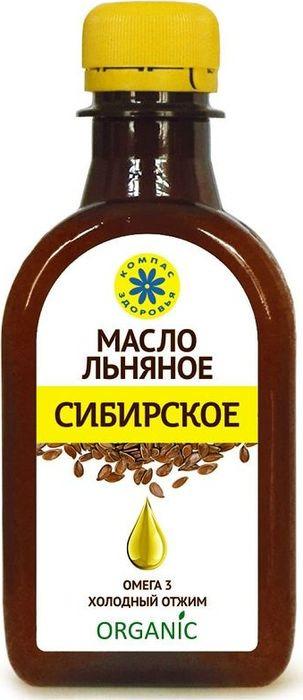 Масло Льняное Компас Здоровья Сибирское, 0,2 л масло льняное компас здоровья сибирское 0 2 л