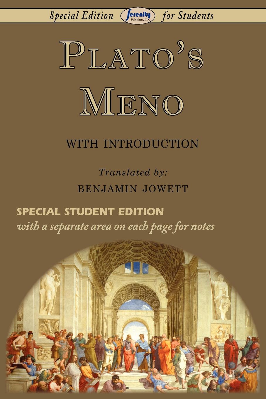 Plato Meno (Special Edition for Students) moritz thomsen my two wars with an introduction by page stegner